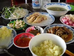Vietnamesische Küche, Cơm gà